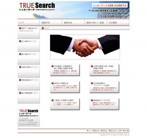 企業信用調査のTRUE Search -トゥルーサーチ-